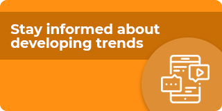 Stay informed about developing trends